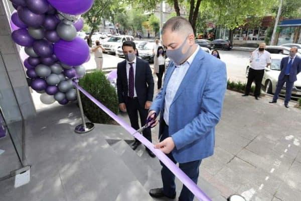 Էվոկաբանկը նոր մասնաճյուղ է բացել Երևանում