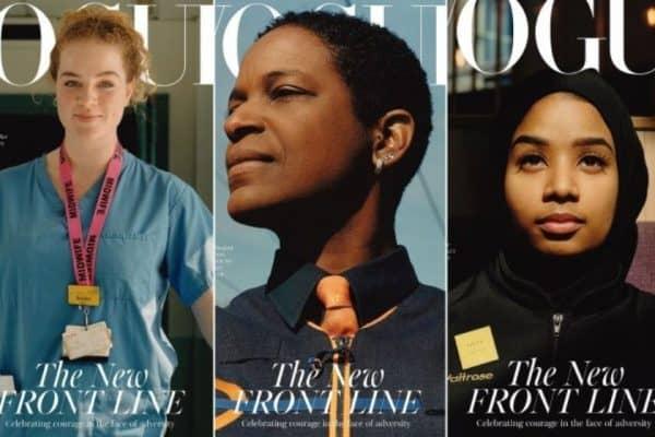 Vogue UK շապիկին համավարակի առաջնագծում աշխատող մարդիկ են