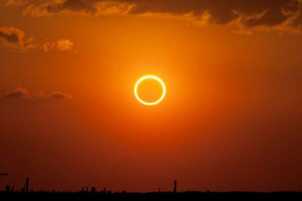 «Հրե օղակ» արևի խավարումը՝ Քարահունջում