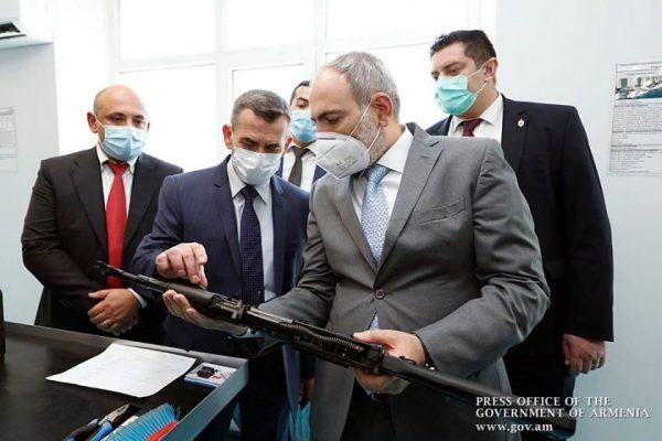 Հայաստանում բացվել է «Կալաշնիկով» ինքնաձիգի արտադրամաս