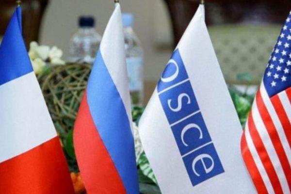 ԵԱՀԿ Մինսկի խմբի համանախագահները դատապարտում են Արցախում կատարվող գործողությունները