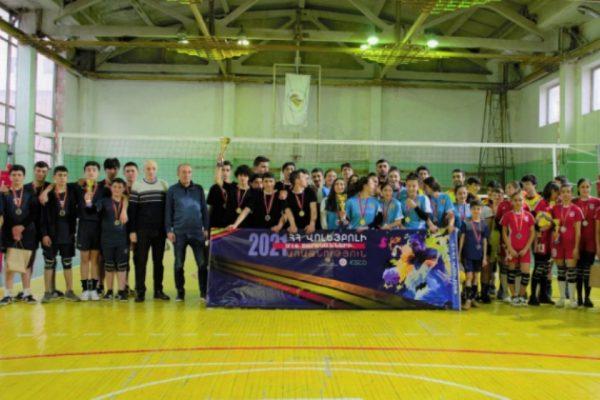Կայացել է Հայաստանի վոլեյբոլի Մ-16 առաջնությունը